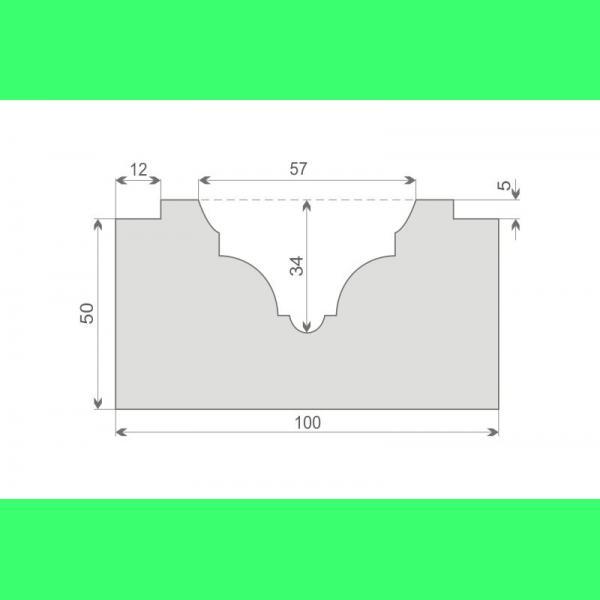 Bossenprofil für Bandrustika LB1
