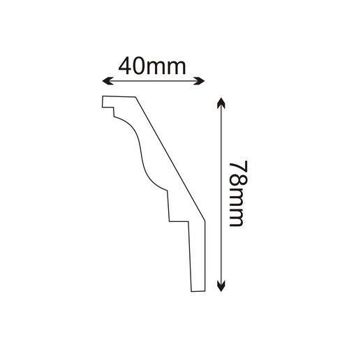 Deckenleiste - MDA212F (Flex) Mardom Decor