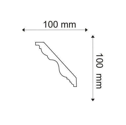 Deckenleiste - MDB108F (Flex) Mardom Decor
