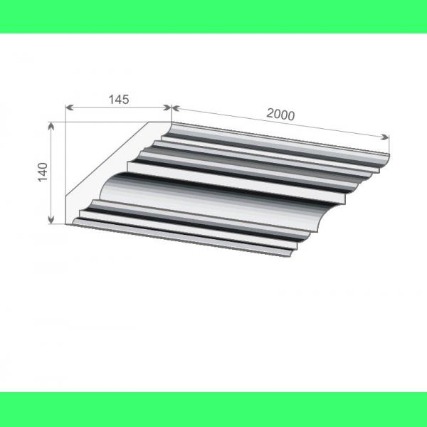 Fassaden Dachgesims FE-7