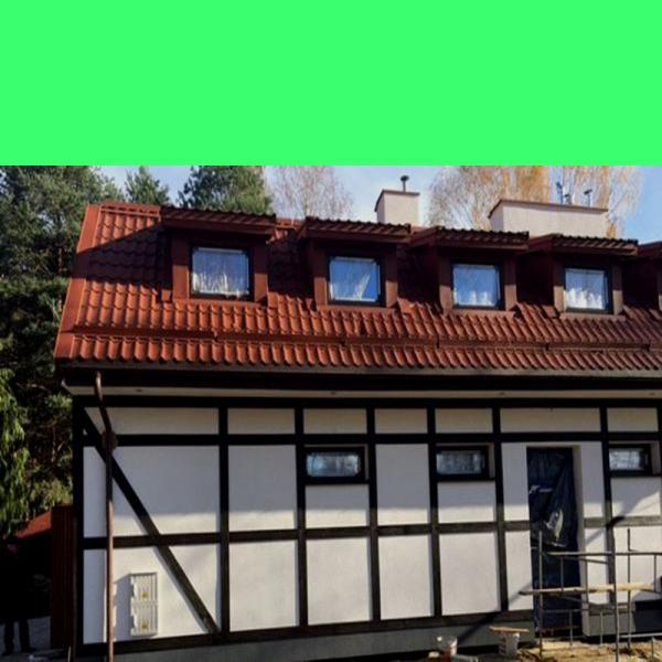 Fassadenverkleidung Rosenholz dunkel