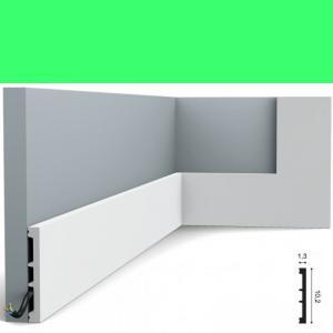 Fussleiste 10,2 x 1,3 cm SX163 Flexible Orac Decor