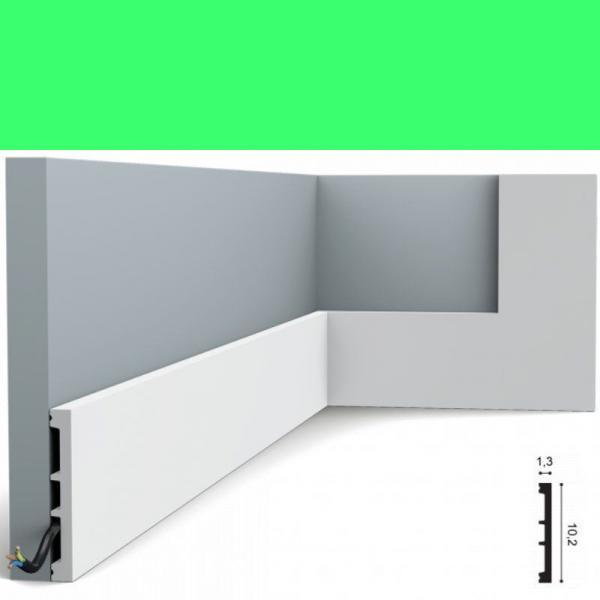 Fussleiste 10,2 x 1,3 cm SX163 Orac Decor