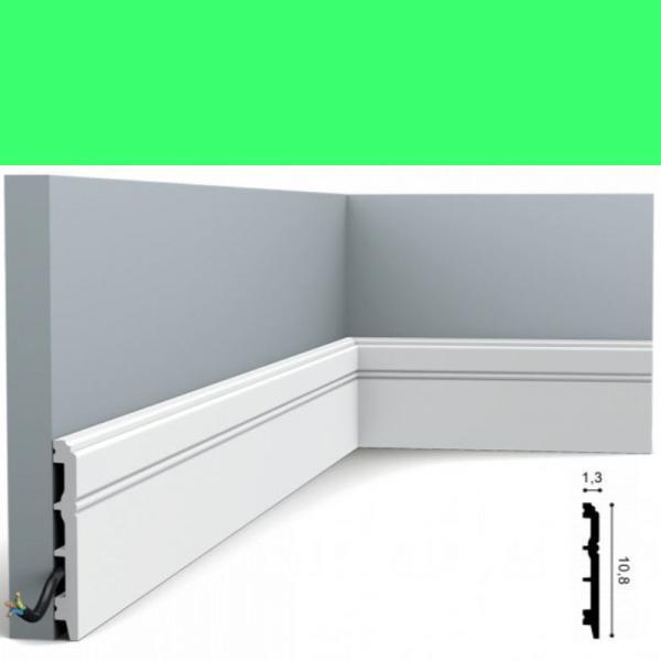 Fussleiste 10,8 x 1,3 cm SX105 Flexible Orac Decor