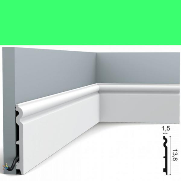 Fussleiste 13,8 x 1,5 cm SX138 Flexible Orac Decor