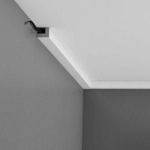 Kabelkanal Weiß für Decke PX164 Orac Decor