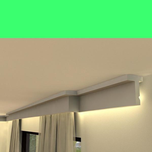 LED Gardinen Verkleidung LKO9