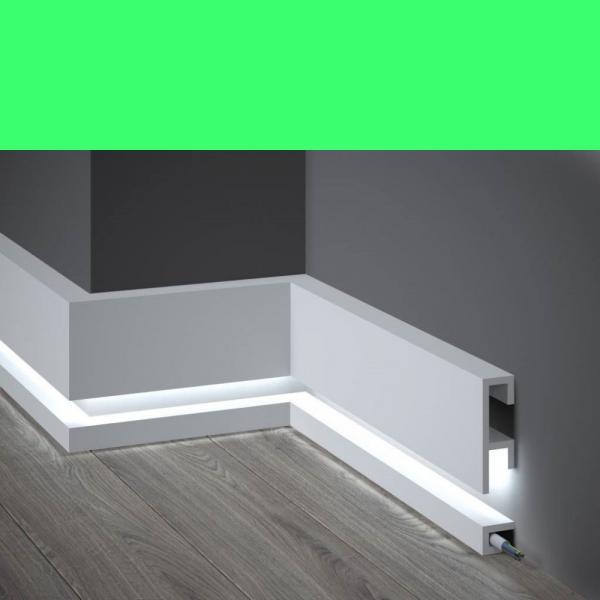 LED Sockelleiste aus Duropolymer QL019+QL021 Mardom Decor