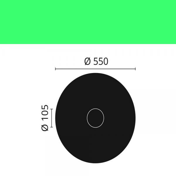 Rosette CR5 ø 55 cm