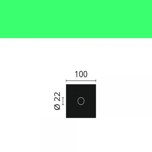 Rosette R13 4 St. NMC 10 x 10 cm