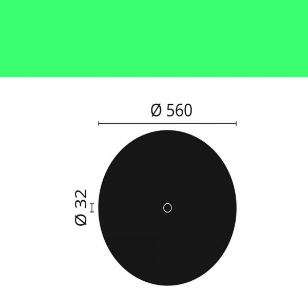 Rosette R15 ø 56 cm