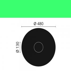 Rosette R16 ø 48 cm
