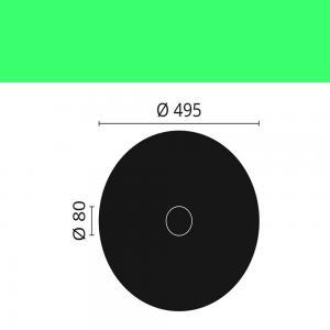 Rosette R8 NMC ø 49,5 cm