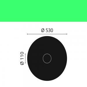 Rosette R9 NMC ø 53cm