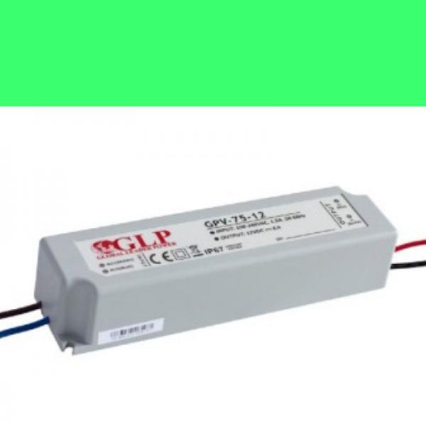 Schaltnetzteil Trafo Netzgerät wasserdicht IP 67 GPV 12V/6A 75W