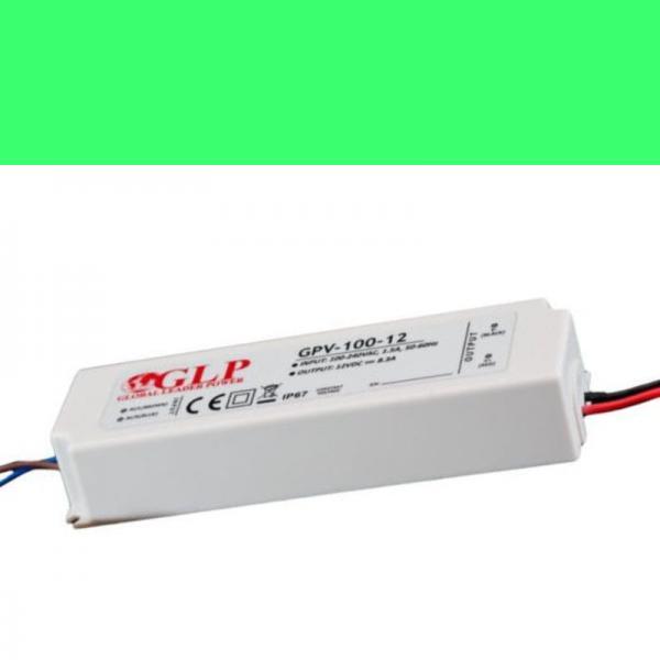 Schaltnetzteil Trafo Netzgerät wasserdicht IP 67 GPV 12V/8A 100W