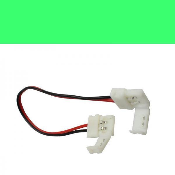Schnellverbinder fur LED Strips 10 mm breit Streife 2 pin monofarbig