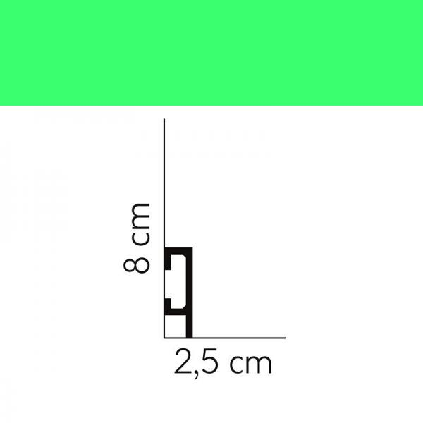 Sockelleiste QL019 Mardom Decor