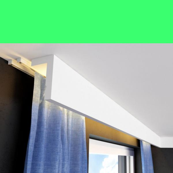 Vorhang Stuckleiste LKO3D