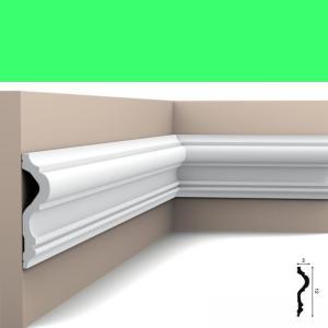 Wandleiste 12 x 3 cm P8050 Flexible Orac Decor