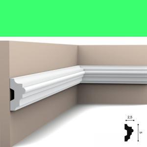 Wandleiste 5 x 2,5 cm P9040 Flexible Orac Decor