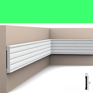 Wandleiste 9,1 x 1,3 cm P5020 Flexible Orac Decor